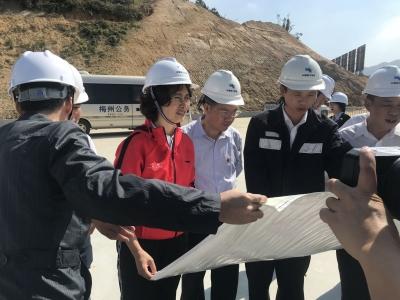 吴晓晖率队到五华督导重点项目建设:加快项目建设进度 增强经济发展后劲