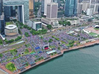 """""""打破沉默,无惧威胁""""——香港社会正集结起越来越多的止暴制乱正能量"""