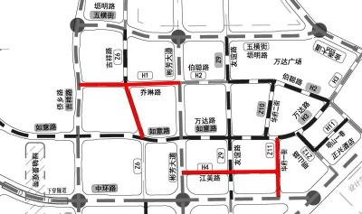 梅州江南新城四条新路开放通行,还有多条道路年底可完工通车