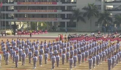 53支代表队参赛!丰顺县第四十五届中小学生田径运动会开幕