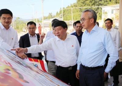 蔡朝林率队到平远调研对口帮扶、精准扶贫工作
