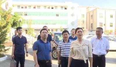 省司法厅调研督导丰顺司法行政系统主题教育开展情况