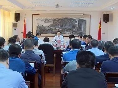 陈伟明主持召开县委常委会议:凝聚力量干事创业 推动蕉岭高质量发展