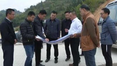 熊锋松一行到大埔高陂镇工业园区县陶产办调研