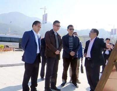 广东省食品进出口集团有限公司考察团到蕉岭参观考察
