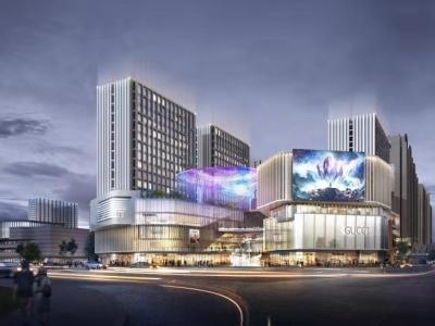 总投资约10亿元!梅州天虹购物中心工程启动