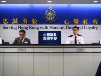 香港警方:周末又拘捕99人,最小12岁