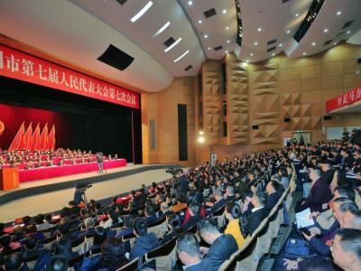 梅州V视丨梅州市七届人大七次会议开幕!两会代表委员接受采访
