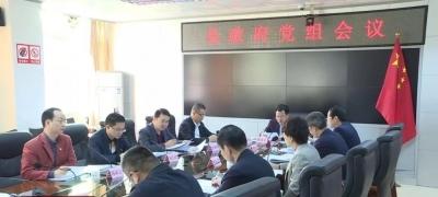 丰顺县召开政府党组会议 传达学习上级有关会议精神