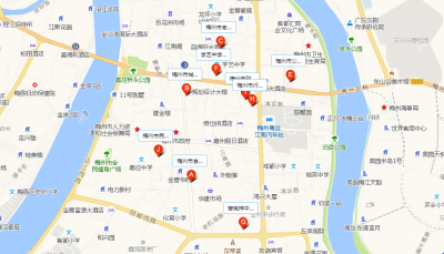 春节期间梅城3497个停车位免费开放!这里有定位地图,只能帮你到这了