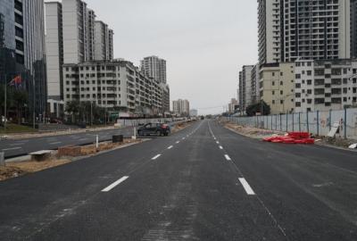 春节出行不再堵!梅城彬芳大道改造提升工程今天全线通车