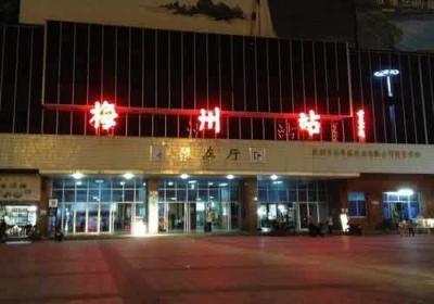 梅州火车站启动24小时防疫值班,来梅旅客全部进行体温检测