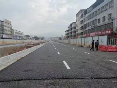 明天,江南新城中环路梅塘东路段将正式通车