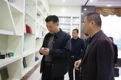熊锋松到梅州市博富能科技有限公司调研