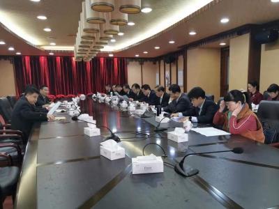 市七届人大七次会议议案审查委员会举行第二次会议
