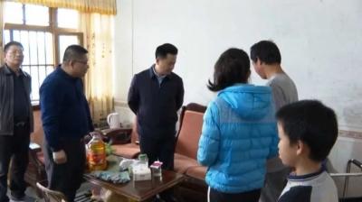朱汉东到大埔西河镇亲切看望慰问困难群众