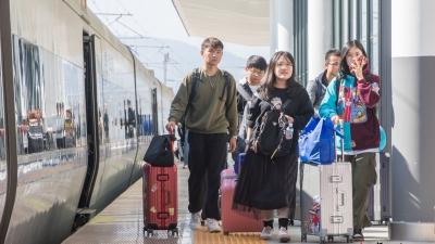 春运期间预计到发旅客40万人次,高铁梅州西站准备好了!