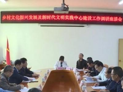 市委宣传部调研组到丰顺调研乡村文化振兴发展及新时代文明实践中心建设工作