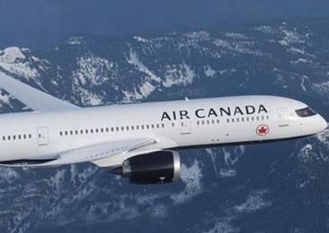 加拿大航空暂停所有直航中国的航班
