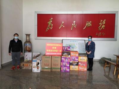 """并肩战""""疫""""!梅西乡贤企业捐赠一批抗疫紧缺物资..."""