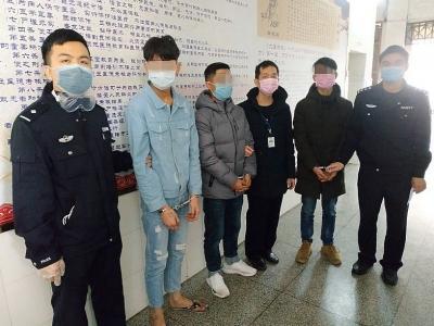 心太黑被抓:3男子销售假口罩获利7万余元