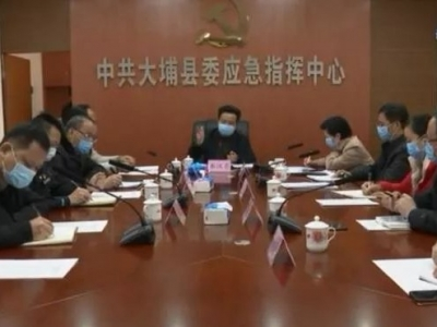 朱汉东主持召开市外来埔人员摸查监管工作视频会议