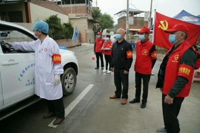 梅县区程江镇:设防控检查点249处,1000多人参与防疫