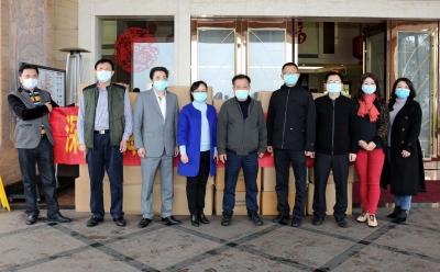 3万个口罩!深圳市梅县商会又捐赠一批疫情防控物资