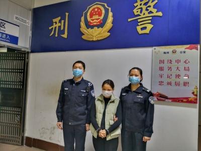 以出售口罩为由诈骗,五华一女子被拘!
