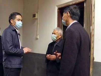 刘彩波到蕉岭广福镇检查疫情防控、脱贫攻坚工作