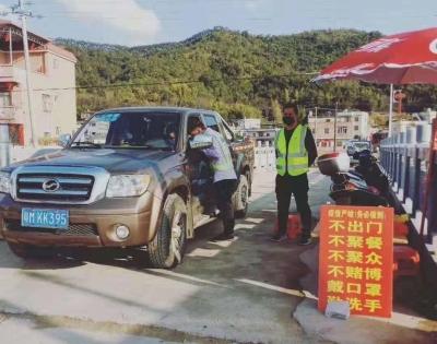 网格管理有序化!兴宁罗岗镇党员干部坚守防控疫情第一线