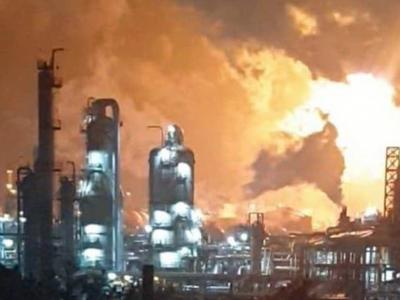 韩国西山乐天化学工厂发生爆炸 数十公里外有冲击震感