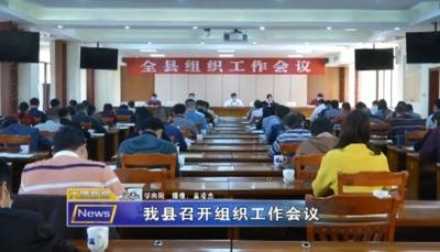 大埔召开组织工作会议,研究部署2020年工作任务