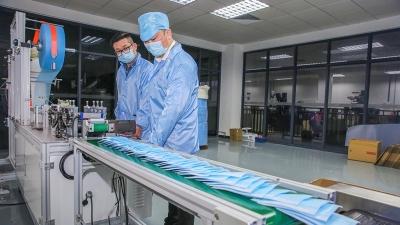 不勒耳朵的口罩来啦!梅州企业自主研发,日产量可达30万只!