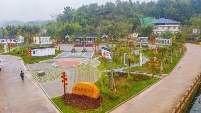 梅县区宋湘纪念公园建成开放,来看鸟瞰视频
