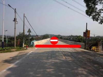 来往请绕行!20日起,兴宁蓝布大桥将封闭施工