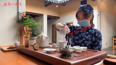 梅州V视丨清茗香萦室!蕉特名茶焕新登场,它是许多梅州人的回忆