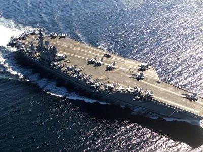 美军4艘航母出现确诊病例