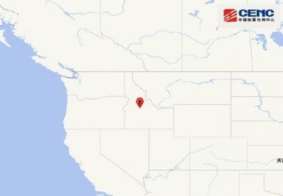 美国爱达荷州6.6级地震