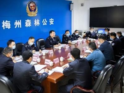 宁惠军调研森林公安打击整治涉野生动物犯罪专项行动情况