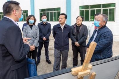 张爱军到梅江区东升工业园调研:以务实高效措施 加快推动项目落地