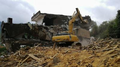 今日,梅蓄项目最后一座房屋拆除!库区将于年底蓄水