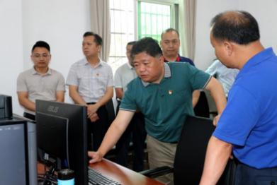 吴晖率队调研五华全县宣传思想工作