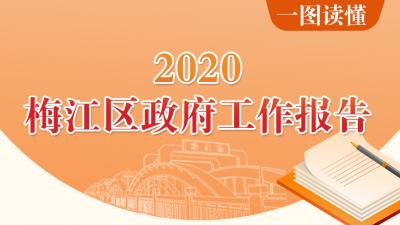 一图读懂!2020年梅江区政府工作报告图解在这