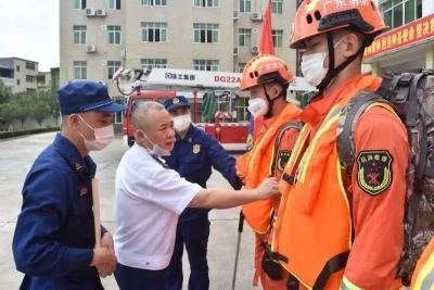 """护航""""两会""""!梅州消防强化火灾防控工作"""