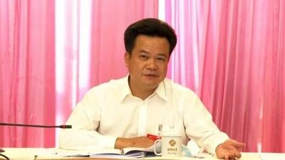 朱汉东参加大埔湖寮镇代表团讨论时强调:抢抓机遇谋发展,直面困难开新局