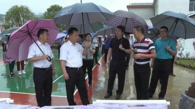 梅江区党政学习考察团一行莅平考察乡村振兴工作