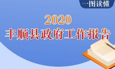 一图读懂!2020年丰顺县政府工作报告图解在这