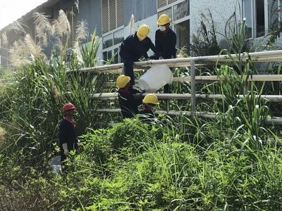 污水泄漏怎么办?东升工业园举行突发环境事件应急演练