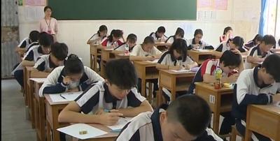 五华1.5万名初三学生参加中考
